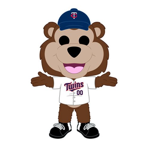 Funko POP! MLB® Mascots - Minnesota Twins T.C. Bear Vinyl Figure