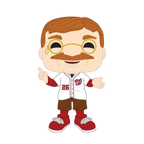 Funko POP! MLB® Mascots - Washington Nationals Teddy Roosevelt Vinyl Figure