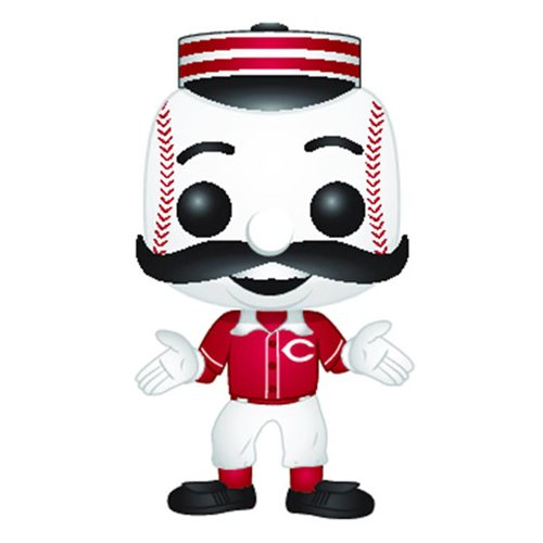 Funko POP! MLB® Mascots - Cincinnati Reds Mr. Redlegs Vinyl Figure