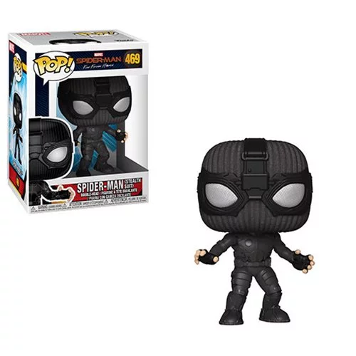 Funko POP! Spider-Man: Far From Home - Spider-Man Stealth Suit Vinyl Figure #469