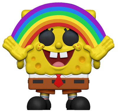 Funko POP! Spongebob Squarepants - Spongebob with Rainbow Vinyl Figure