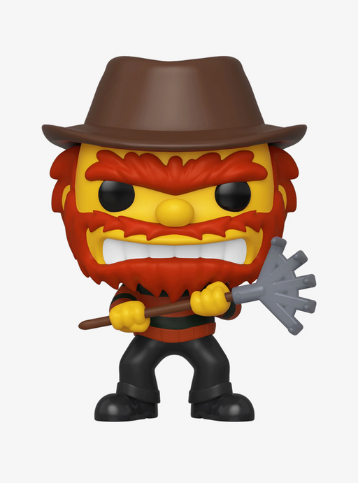 Funko POP! The Simpsons: Treehouse of Horror - Evil Groundskeeper Willie Vinyl Figure #824 Fall Convention Exclusive [READ DESCRIPTION]