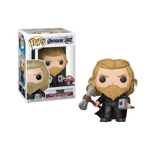 Funko POP! Avengers: Endgame - Thor with Mjolnir and Stormbreaker Vinyl Figure #482 Special Edition Exclusive [READ DESCRIPTION]