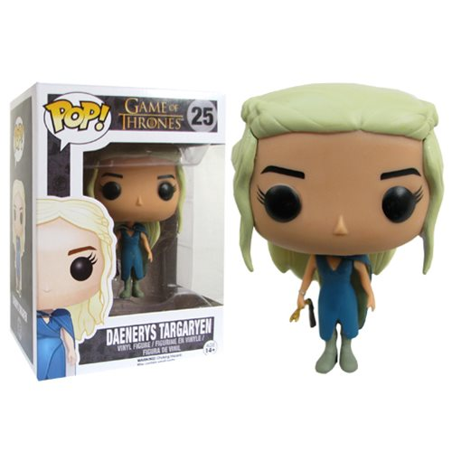 Funko POP! Game of Thrones - Daenerys Targaryen Mhysa Vinyl Figure #25