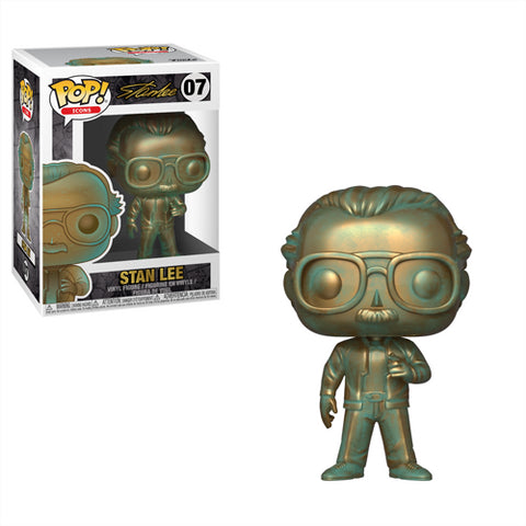 [PRE-ORDER] Funko POP! Icons - Stan Lee (Patina) Vinyl Figure #07
