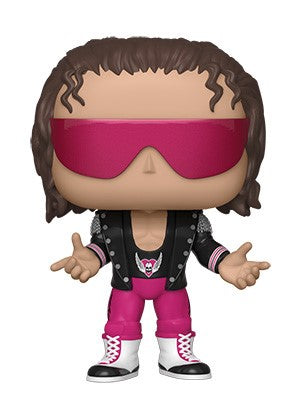 Funko POP! WWE - Bret Hart With Jacket Vinyl Figure