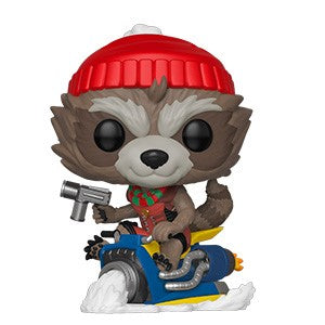 Funko POP! Marvel Holiday - Rocket Vinyl Figure