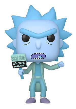 Funko POP! Rick and Morty - Hologram Rick Clone Vinyl Figure
