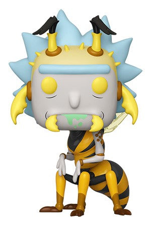 Funko POP! Rick and Morty - Wasp Rick Vinyl Figure