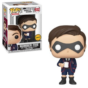 Funko POP! Umbrella Academy - Number Five Chase Vinyl Figure #932