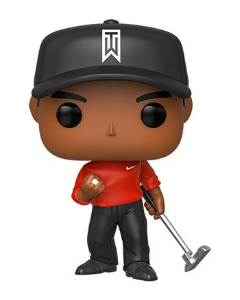 Funko POP! Golf - Tiger Woods (Red Shirt) Vinyl Figure