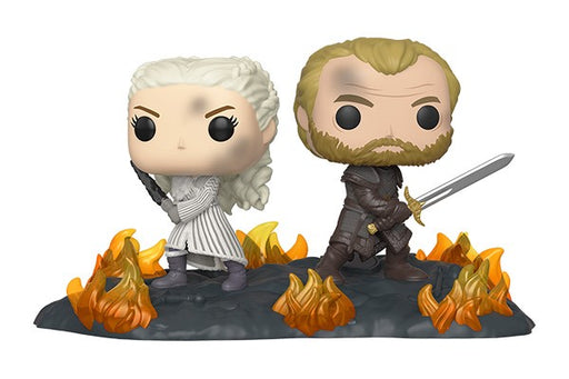 Funko POP! Game of Thrones Moment - Daenerys and Jorah with Swords (Back to Back)