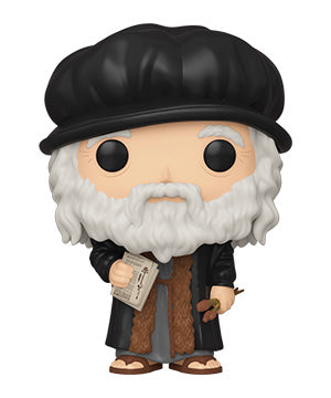 [PRE-ORDER] Funko POP! Artists - Leonardo da Vinci Vinyl Figure