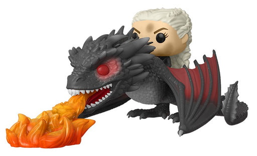 Funko POP! Rides: Game of Thrones - Daenerys on Fiery Drogon Vinyl Figure