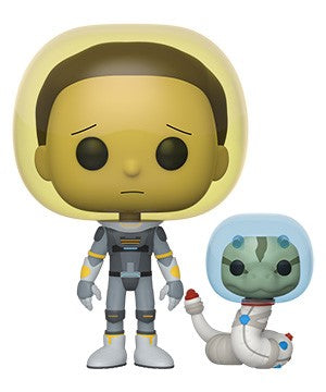 Funko POP! Rick and Morty - Space Suit Morty with Snake Vinyl Figure