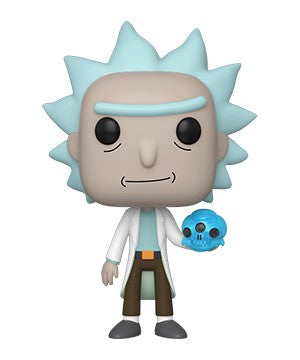 Funko POP! Rick and Morty - Rick with Crystal Skull Vinyl Figure