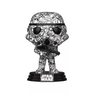 Funko POP! Star War - Stormtrooper (Futura) Vinyl Figure #296 Special Edition Exclusive [READ DESCRIPTION]