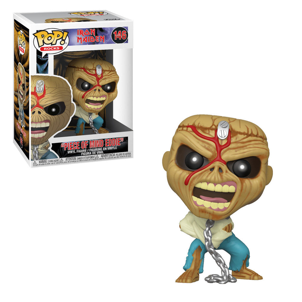 Iron Maiden Eddie Iron Maiden Funko Pop Vinyl Figure #143