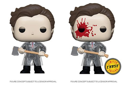 [PRE-ORDER] Funko POP! American Psycho - Patrick with Axe Common and Chase Bundle Set