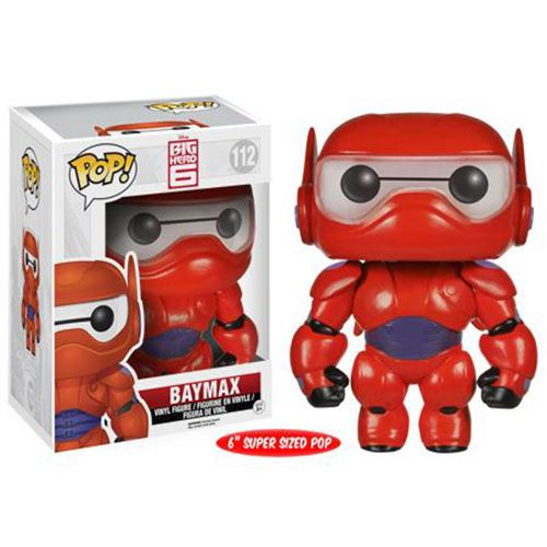 Funko POP! Disney Big Hero 6 - Baymax 6'' Vinyl Figure #112
