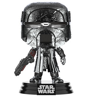 [PRE-ORDER] Funko POP! Star Wars: Rise of Skywalker - Knight of Ren Blaster (Hematite Chrome) Vinyl Figure