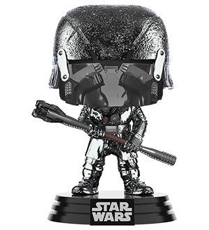 [PRE-ORDER] Funko POP! Star Wars: Rise of Skywalker - Knight of Ren Club (Hematite Chrome) Vinyl Figure