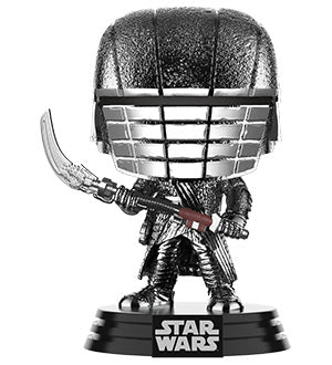 [PRE-ORDER] Funko POP! Star Wars: Rise of Skywalker - Knight of Ren Scythe (Hematite Chrome) Vinyl Figure