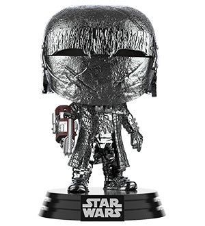 [PRE-ORDER] Funko POP! Star Wars: Rise of Skywalker - Knight of Ren Cannon (Hematite Chrome) Vinyl Figure
