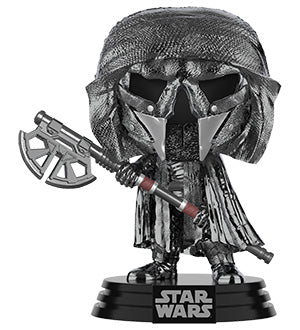 [PRE-ORDER] Funko POP! Star Wars: Rise of Skywalker - Knight of Ren Axe (Hematite Chrome) Vinyl Figure