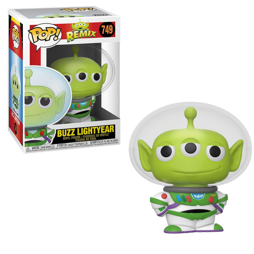 Funko POP! Pixar Alien Remix - Alien as Buzz Vinyl Figure #749