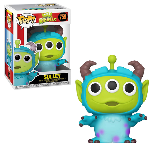 Funko POP! Pixar Alien Remix - Alien as Sulley Vinyl Figure #759
