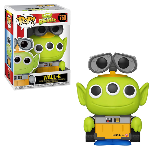 Funko POP! Pixar Alien Remix - Alien as Wall-E Vinyl Figure #760