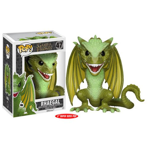 Funko POP! Game of Thrones - Rhaegal Dragon 6-Inch Vinyl Figure #47