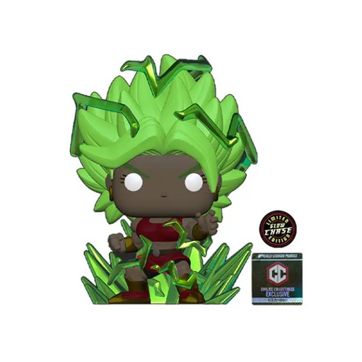 Funko POP! Dragon Ball Super - Super Saiyan Kale (Energy) Chase #819 Chalice Exclusive [READ DESCRIPTION]