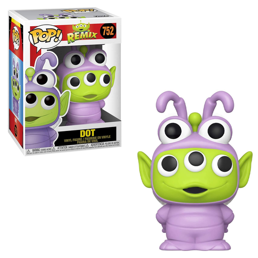 Funko POP! Pixar Alien Remix - Alien as Dot Vinyl Figure #752