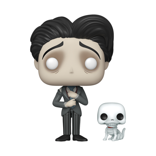 [PRE-ORDER] Funko POP! Corpse Bride - Victor with Scraps Vinyl Figure