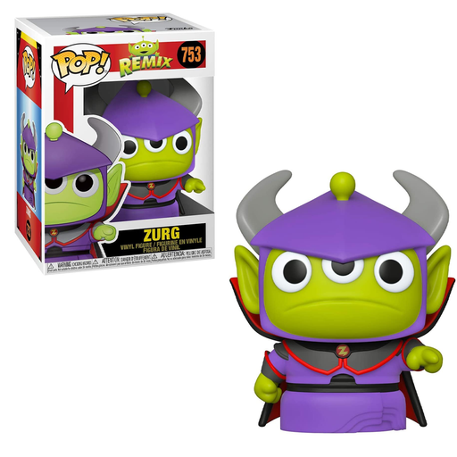 Funko POP! Pixar Alien Remix - Alien as Zurg Vinyl Figure #753