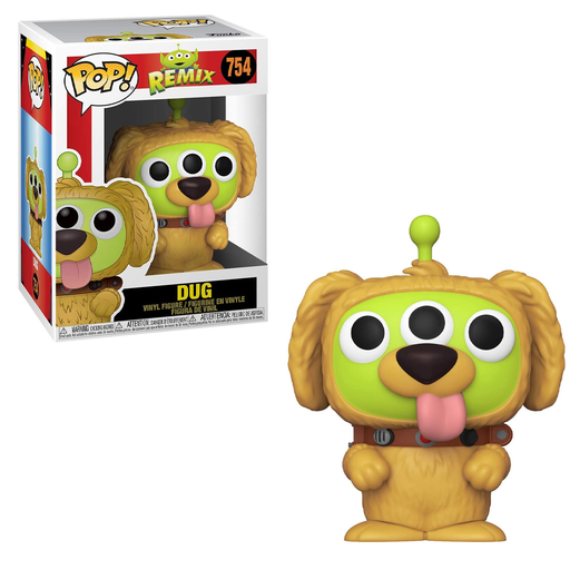 Funko POP! Pixar Alien Remix - Alien as Dug Vinyl Figure #754