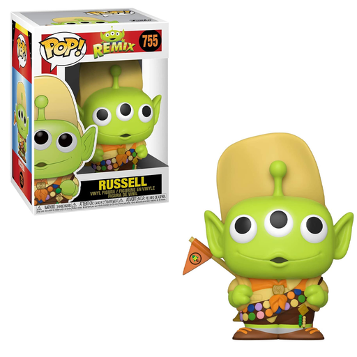[PRE-ORDER] Funko POP! Pixar Alien Remix - Alien as Russel Vinyl Figure #755