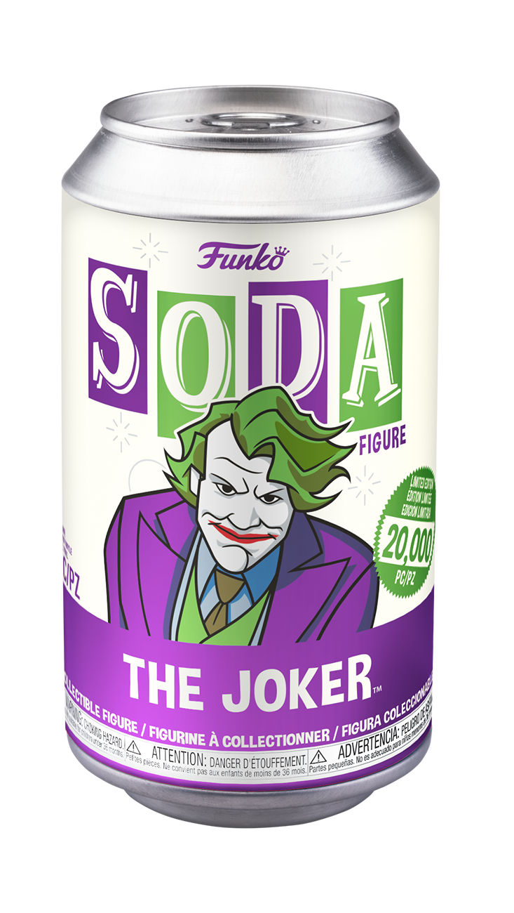Pre Order Funko Vinyl Soda Batman The Dark Knight Joker Vinyl Fi Shumi Toys Gifts