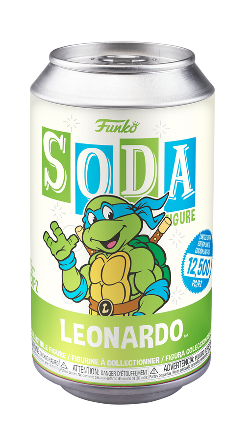[PRE-ORDER] Funko Vinyl SODA: Teenage Mutant Ninja Turtles - Leonardo Vinyl Figure
