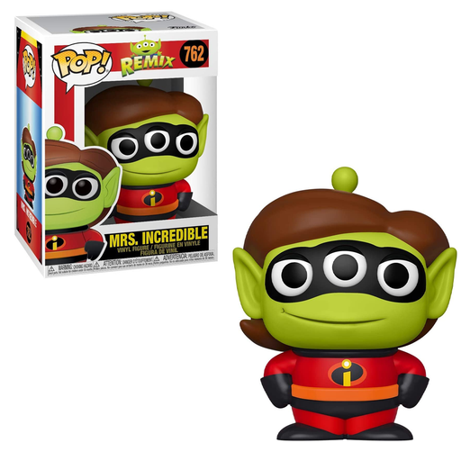 Funko POP! Pixar Alien Remix - Alien as Mrs. Incredible Vinyl Figure #762