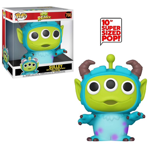 Funko POP! Pixar Alien Remix - 10-Inch Alien as Sulley Vinyl Figure #766