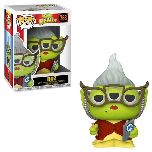 Funko POP! Pixar Alien Remix - Alien as Roz Vinyl Figure #763