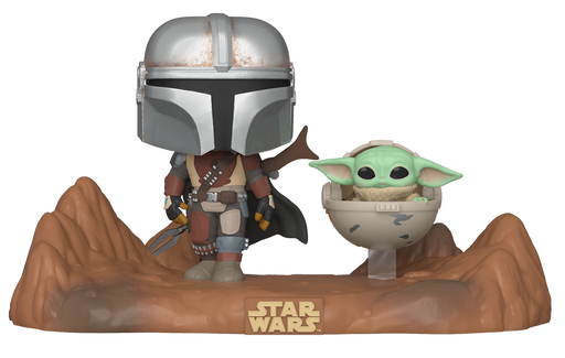 [PRE-ORDER] Funko POP! Moment: Star Wars: The Mandalorian - Mandalorian and Child Vinyl Figures