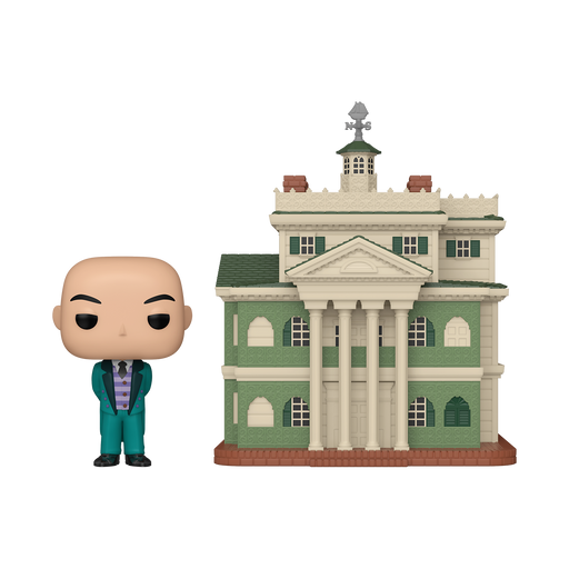 [PRE-ORDER] Funko POP! Town: Haunted Mansion - The Haunted Mansion with Butler