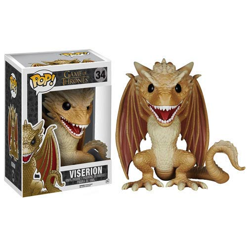 Funko POP! Game of Thrones - Viserion Dragon 6-Inch Vinyl Figure #34