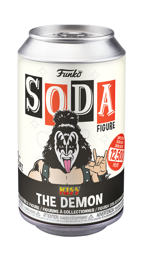 [PRE-ORDER] Funko Vinyl SODA: KISS - Gene Simmons (The Demon) Vinyl Figure