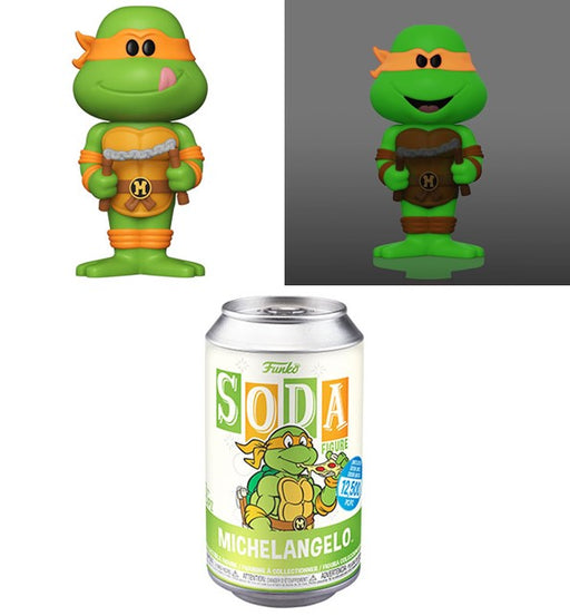 [PRE-ORDER] Funko Vinyl SODA: Teenage Mutant Ninja Turtles - Michelangelo Vinyl Figure