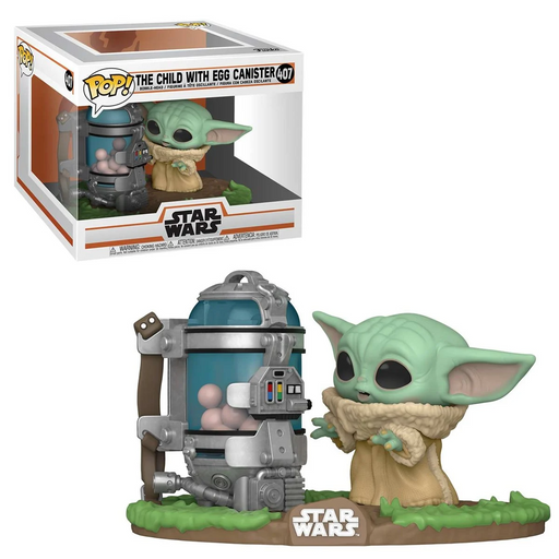 [PRE-ORDER] Funko POP! Star Wars: The Mandalorian - The Child with Egg Canister Deluxe Vinyl Figure